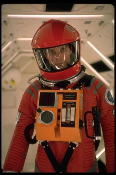 Dullea in the movie classic 2001: A Space Odyssey.