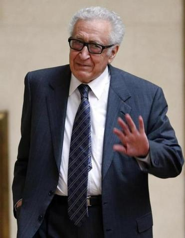 "Lakhdar Brahimi is special envoy of the UN and Arab League, which called ""the Syrian regime responsible for this heinous crime."""