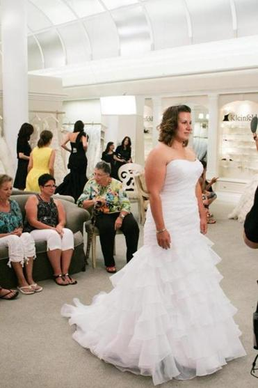 "Gown hunter Mary Beth Cyr , of Sturbridge, will be featured on Friday's episode of ""Say Yes to the Dress."""
