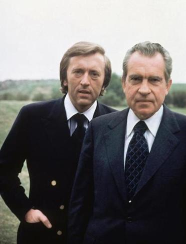 David Frost's talks with Richard Nixon were among the most widely watched in TV history.