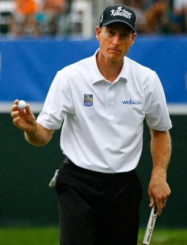 Jim Furyk's 63 was two strokes shy of the course record and an indication that he still has gas in the tank during the summer's dog days.