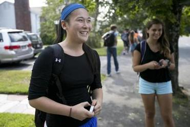 """We just see it as fun. Adults may see it differently,"" said Emily Chang, a Newton South sophomore."
