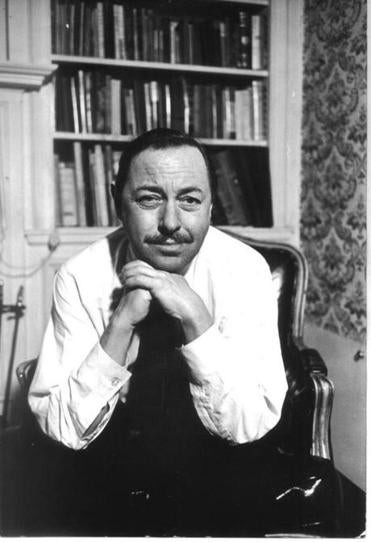 Tennessee Williams, seen in his New York apartment in 1965, began to fall out of favor in the '60s.