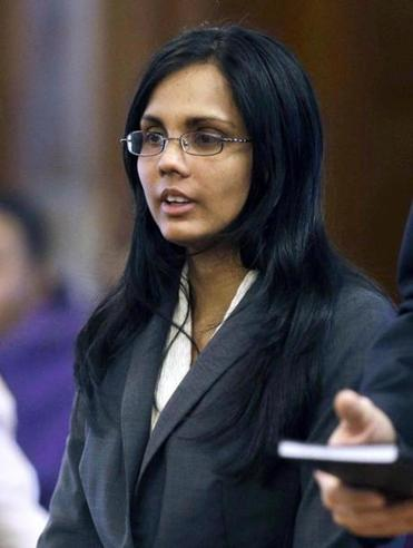 Former state chemist Annie Dookhan, whose alleged mishandling of drug evidence at a state lab has cast a shadow on thousands of cases.