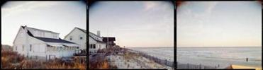 Photographer Bruce Myren's triptych Normandy Beach, N.J.