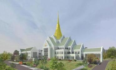 Owering Tribute Thai Buddhist Temple To Rise In Raynham