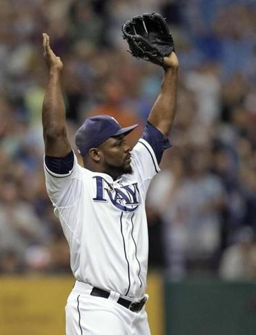 Fernando Rodney, who threw in Tampa's 18-inning win Friday, closed Saturday's game.