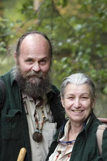 Les Hook and Nova Kim (left) are longtime mushroom gatherers.