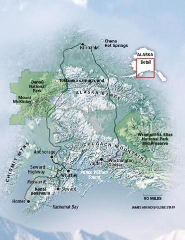 Camping Trip Through Alaska With Four Friends In An Rv