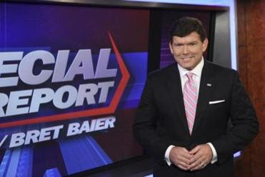 """When we are talking on the news side of the house we really are striving to be balanced,'' said Bret Baier, seeking to draw a distinction between his show and the popular opinion shows on Fox News Channel."