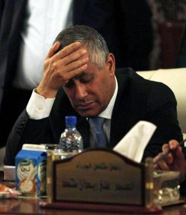 Ali Zeidan, Libya's prime minister, spoke to reporters after his captors freed him.