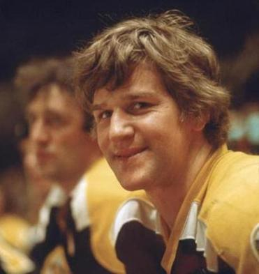 Bobby Orr as a Bruin in the 1970s