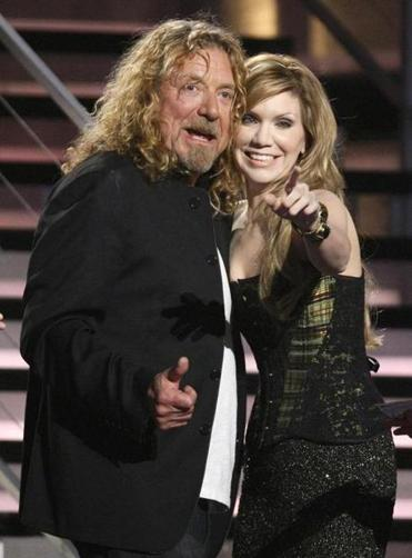 Robert Plant and Alison Krauss recorded on Rounder.