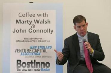 Also appearing at the forum was Connolly's opponent, state Representative Martin Walsh.