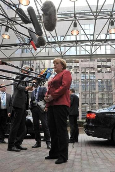 """Spying among friends, that cannot be,'' Angela Merkel, Germany's chancellor, said."