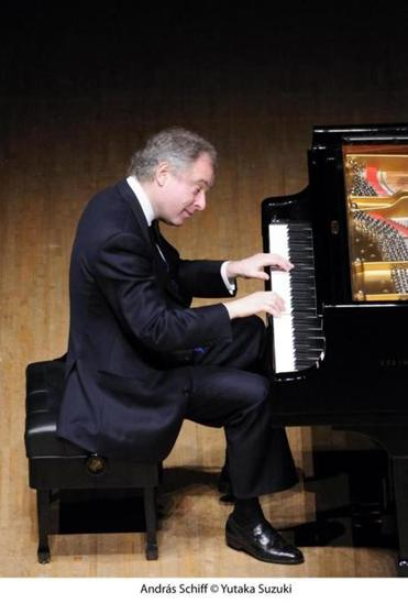 András Schiff brings together two major piano works in a  program to be performed at Jordan Hall.
