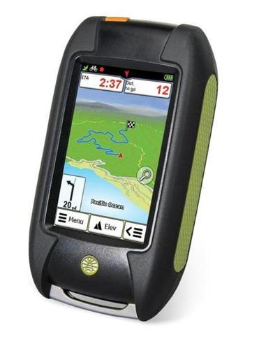 A GPS for hikers and bikers.
