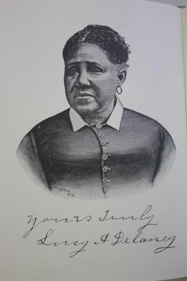 Lucy Delaney, who sued for her freedom and won.