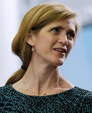 Samantha Power, the US ambassador to the United Nations, posts on Twitter about Syria and the Sox.