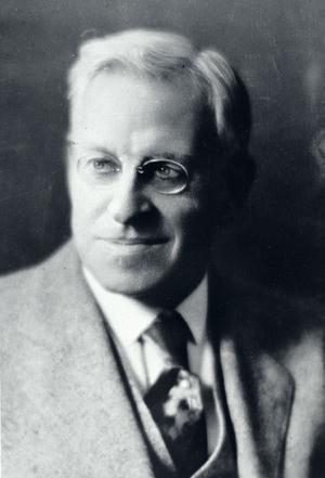 Everett W. Lord, who sold the BU trustees on the idea of a business school.