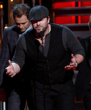 "Lee Brice, who won song of the year for ""I Drive Your Truck."""