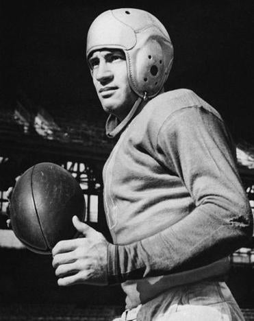 Ace Parker played three sports at Duke, then starred with the NFL's Brooklyn Dodgers, winning the MVP in 1940.