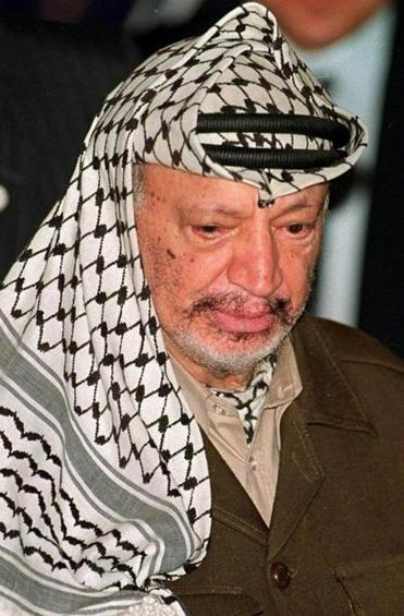 Yasser Arafat, who died in 2004, was the Palestinian Authority leader.