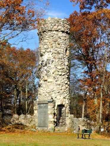 Norumbega Tower in Weston