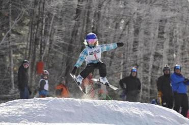 Whaleback has a youth-oriented focus with its Alpine and freestyle skiing programs.