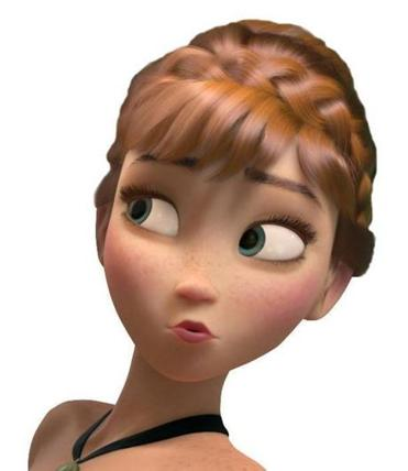 "Anna is the main protagonist in ""Frozen,"" and the newest princess in Disney's lineup. She is smart, resourceful, and doe-eyed."