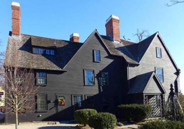 The House of the Seven Gables: Built in 1668 for Captain John Turner near his wharf, it became famous in Nathaniel Hawthorne's novel. It remained in the family for generations, undergoing many renovations.