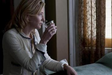 "CATE BLANCHETT in ""Blue Jasmine"" misses the import of a strained relation-ship with a stepson."