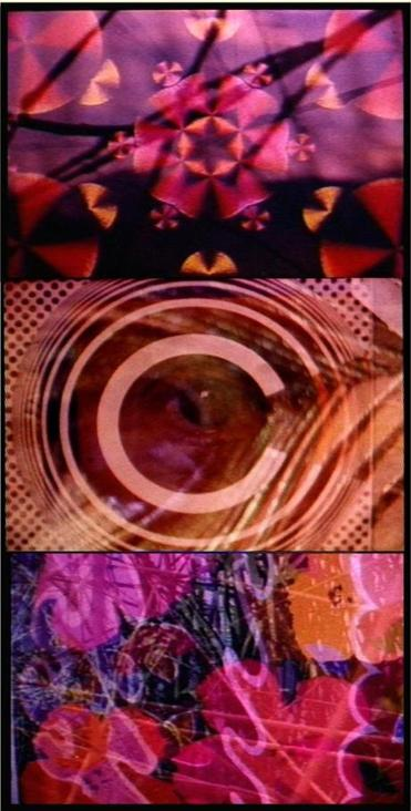 """Psychedelic Cinema'' is a compilation of visuals made by Ken Brown for concerts at the Boston Tea Party in the late 1960s."