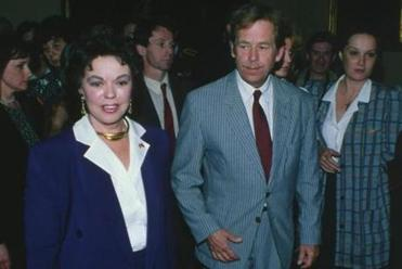 Forging a second career, Ms. Temple Black ran for Congress and eventually became US envoy to Czechoslovakia, where she worked with President Vaclav Havel (above).