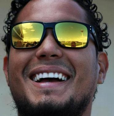 Felix Doubront spoke to reporters outside of the clubhouse at JetBlue Park.