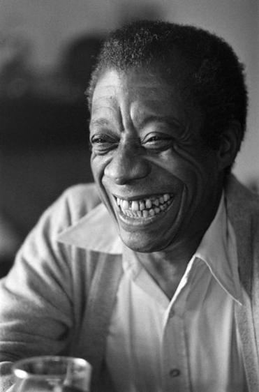 James Baldwin posed at his home in France in 1979.
