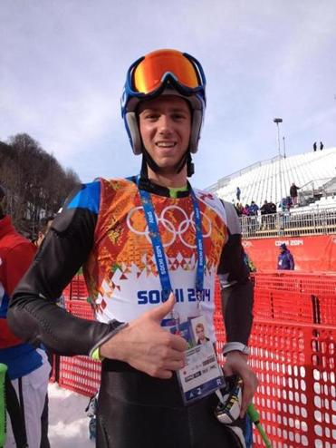 Warren Cummings Smith III, a Dedham resident and Dartmouth student, has dual citizenship and is competing in the Sochi  Games for Estonia.Shira Springer/Globe Staff