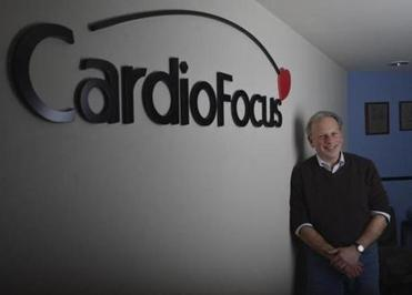 Stephen Sagon is the CEO of CardioFocus, a company in Marlborough