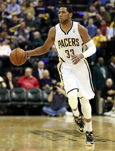 Pacers forward Danny Granger is headed to Philadelphia, provided the NBA approves the trade.