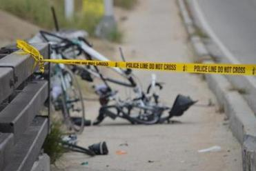 Sept. 21, 2013: Police say Darriean Hess drove into the cyclists, who were on an organized ride. Two others were hurt.