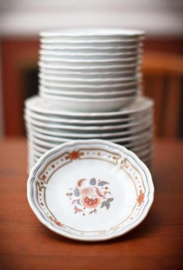 Jones's china set.