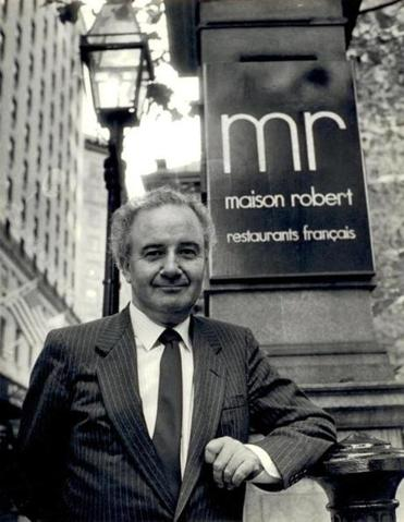 Lucien Robert opened Maison Robert with his wife, Ann.
