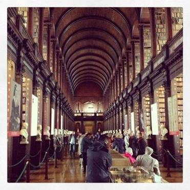 Unchanging  landmarks on a trip to Ireland include Trinity College Library in Dublin.