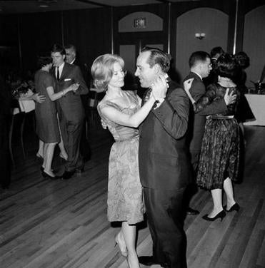 The Berras, shown dancing in 1963, recently celebrated their 65th wedding anniversary.