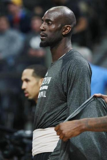 The Nets' Kevin Garnett will miss his fourth straight game Friday.