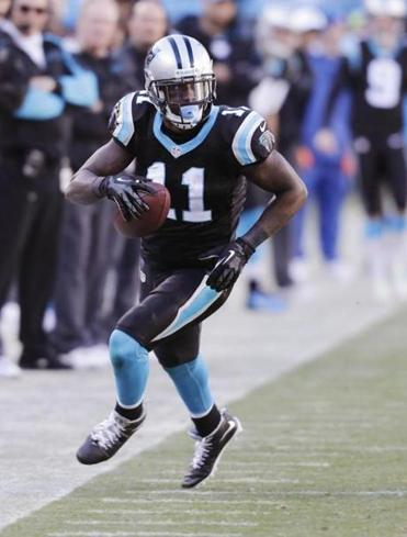 Brandon LaFell had 49 receptions and five touchdowns in 2013.. (AP Photo/Chuck Burton)