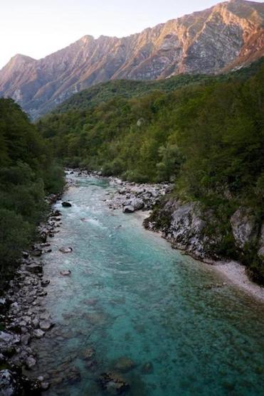 Now, the Soca River, colored a brilliant emerald-turquoise, attracts legions of thrill-seekers.