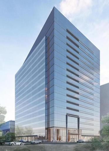 Goodwin Procter will occupy most of the 17-story building.