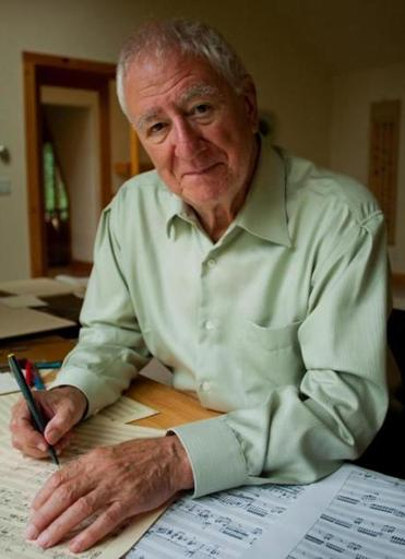 "The newest work by Bernard Rands (below), ""Concerto for Piano and Orchestra,"" was commissioned by the Boston Symphony Orchestra and composed for Jonathan Biss (pictured)."