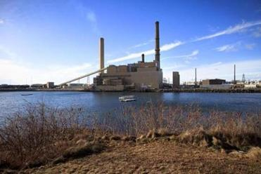 The Salem Harbor Power Station, a coal- and oil-fired plant that is set to be replaced with one that runs on natural gas — more efficient, but still a source of greenhouse gases — is a point of contention for the group.